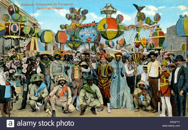 A Few Historic Carnival Costumes from the Gulf and Caribbean